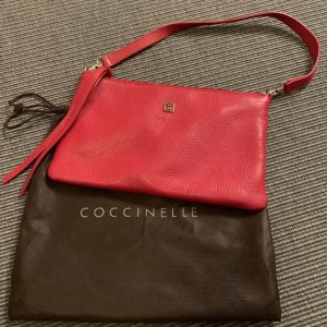 Coccinelle Pochette red-gold-colored leather