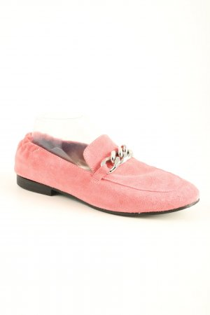 Poelman Pantoffels roze casual uitstraling