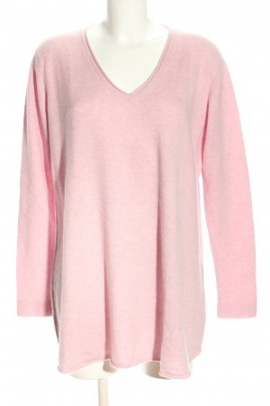 Poetry Cashmere Jumper pink casual look