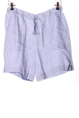 Poetry Skorts blue striped pattern casual look