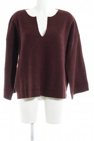 Poetry Strickpullover brombeerrot Casual-Look