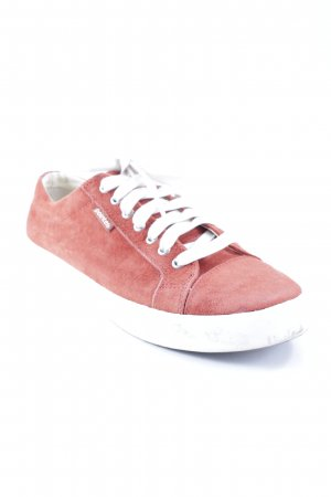 Pointer Schnürsneaker rostrot Casual-Look