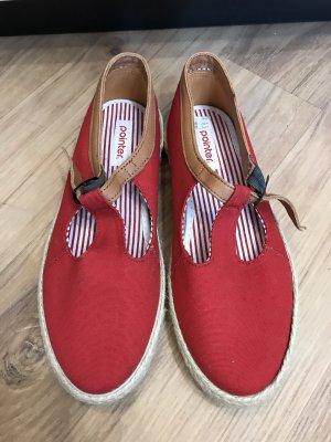 Pointer Sommerschuhe Schuhe Canvas Leder 38 ungetragen