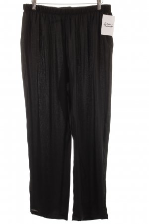 POIS Culottes schwarz Street-Fashion-Look