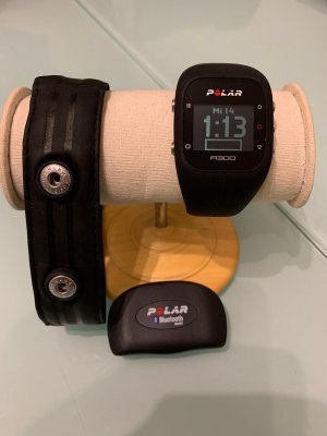 Polar Digital Watch black
