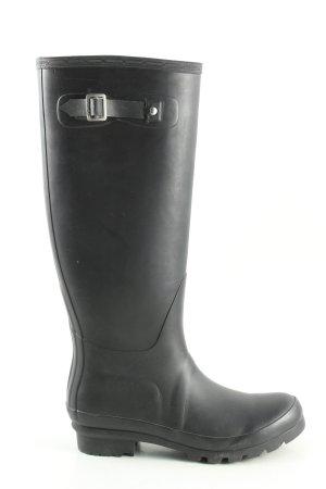 Polar Wellington laarzen zwart casual uitstraling