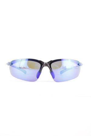 Polar Retro Brille blau-schwarz extravaganter Stil