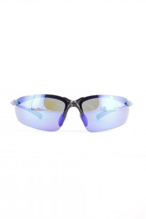 Polar Retro Glasses blue-black extravagant style