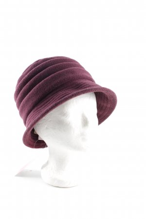 Cloche Hat lilac business style