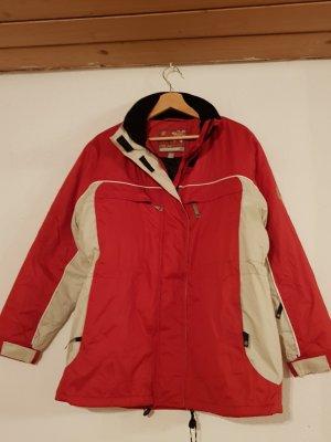 PolarDream TCM Winterjacke rot/weiß