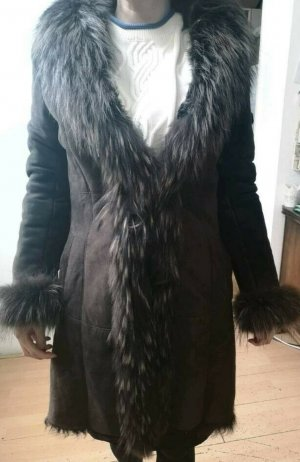 Coat Dress grey brown