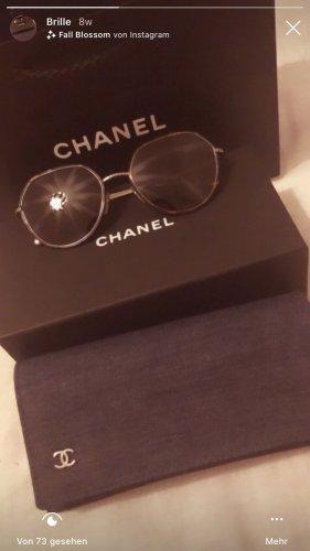 Chanel Lunettes brun foncé