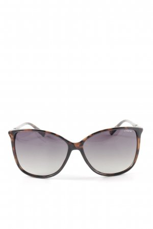 Polaroid Glasses bronze-colored animal pattern casual look