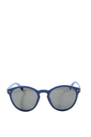 Polaroid Owalne okulary przeciwsłoneczne niebieski W stylu casual
