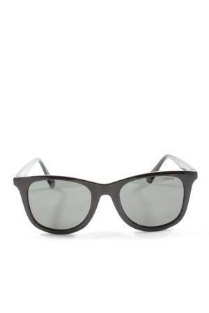 Polaroid eckige Sonnenbrille schwarz Casual-Look