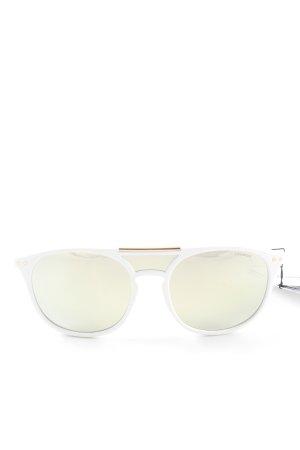 Polaroid Pilotenbril wit casual uitstraling