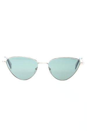 Polaroid Occhiale stile retro verde-argento stile casual