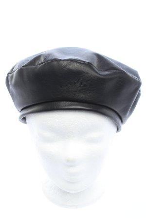 Polene Baskenmütze schwarz Casual-Look