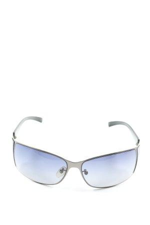 Police Gafas de sol cuadradas negro-color plata look casual