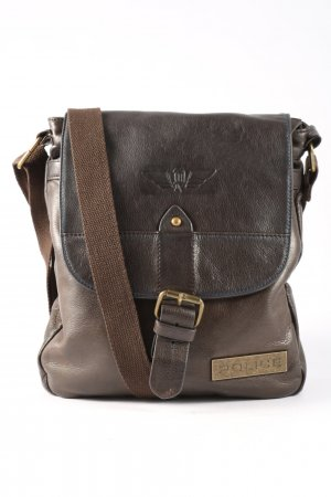 Police Crossbody bag brown business style