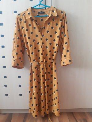 C&A Yessica Sukienka koszulowa złotopomarańczowy-czarny