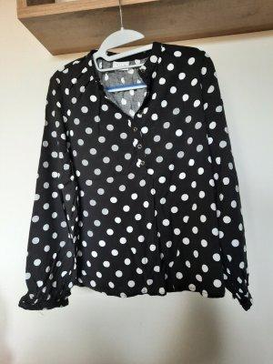 polkadot Hemd-Bluse  M