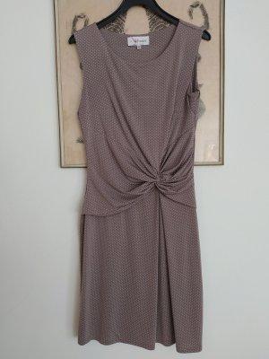 Armand Thiery Stretch Dress white-grey brown