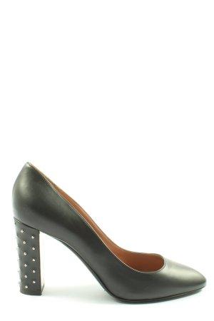 Pollini High Heels schwarz Business-Look