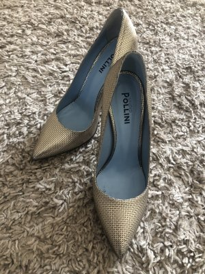 Pollini High Heels in Gold