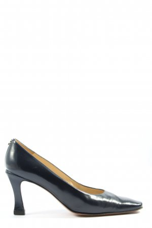 Pollini High Heels blau Casual-Look