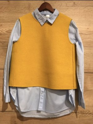 COS Fine Knitted Cardigan sand brown-yellow