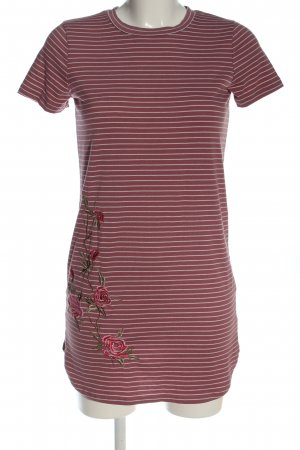 polly&esther Shirt Dress red-white flower pattern casual look