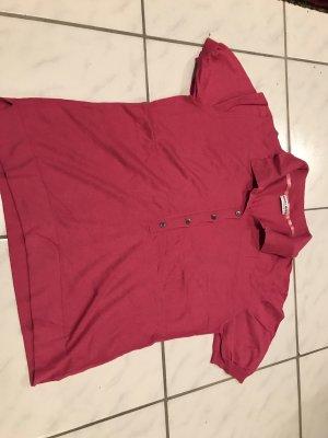 Polo shirt framboosrood