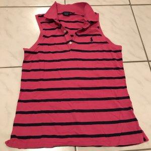 Polo Ralph Lauren Camiseta tipo polo rosa-azul oscuro
