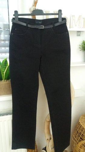 Bexleys Pantalone cinque tasche nero Cotone