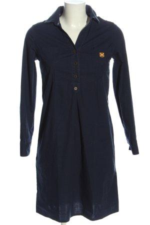 Polo Club Blusenkleid blau Casual-Look