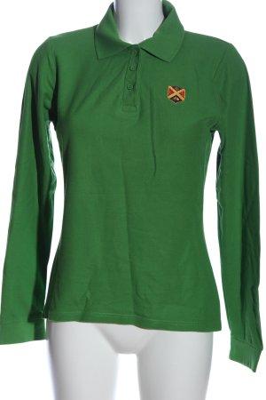 Polo Club Longsleeve grün Casual-Look