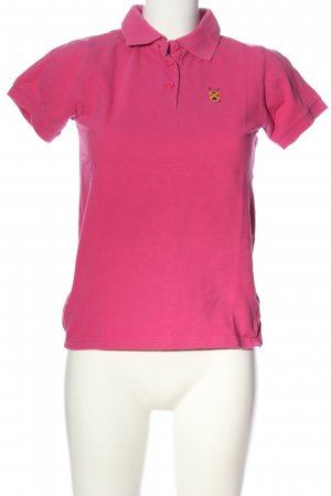 Polo Club Polo shirt roze casual uitstraling