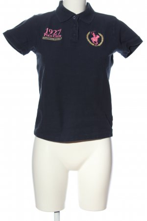 Polo Club Polo shirt blauw casual uitstraling