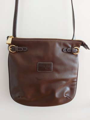 Beverly Hills Polo Club Crossbody bag brown leather