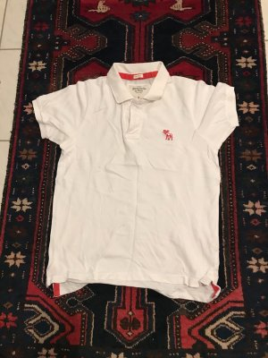 Abercrombie & Fitch Polo shirt wit