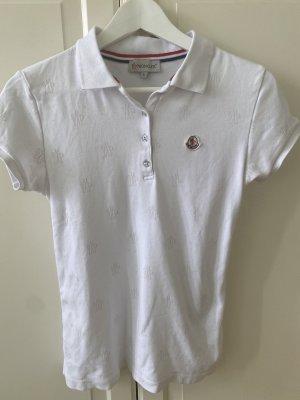 Moncler Polo Shirt white