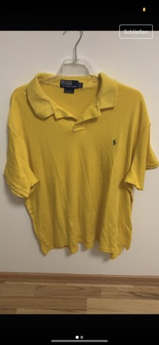Polo gelb iconic vintage