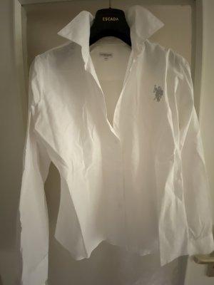 Polo hemd mit silber Logo