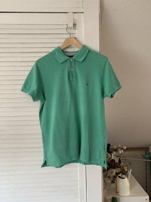 Tommy Hilfiger Koszulka polo miętowy