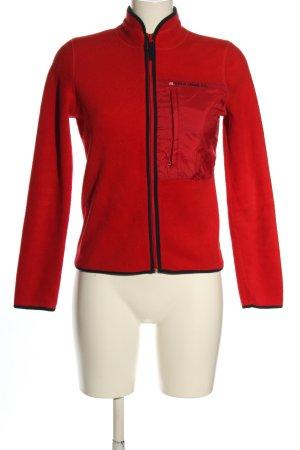 Polo Jeans Co. Ralph Lauren Fleece Jackets red casual look