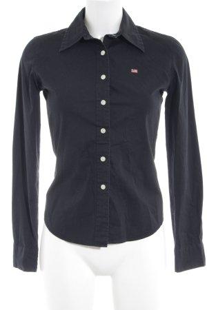 Polo Jeans Co. Ralph Lauren Hemd-Bluse schwarz Casual-Look