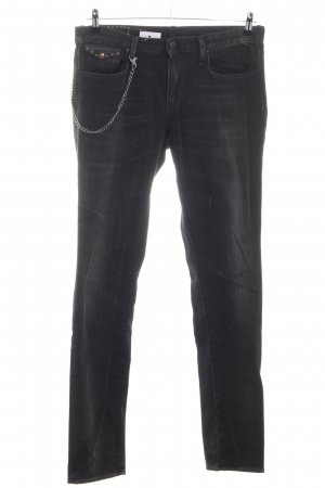 Polo Jeans Co. Ralph Lauren Hüftjeans schwarz Casual-Look
