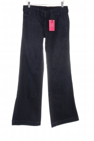 Polo Jeans Co. Ralph Lauren Jeansschlaghose dunkelblau meliert