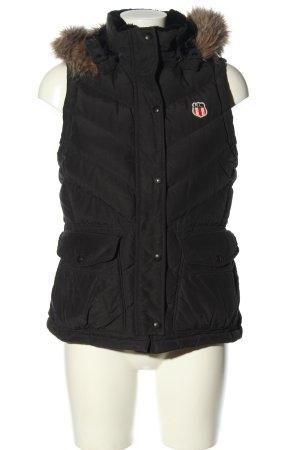 Polo Jeans Co. Ralph Lauren Gilet à capuche noir style décontracté